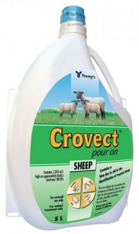 Crovect Pour-on 5 Litres